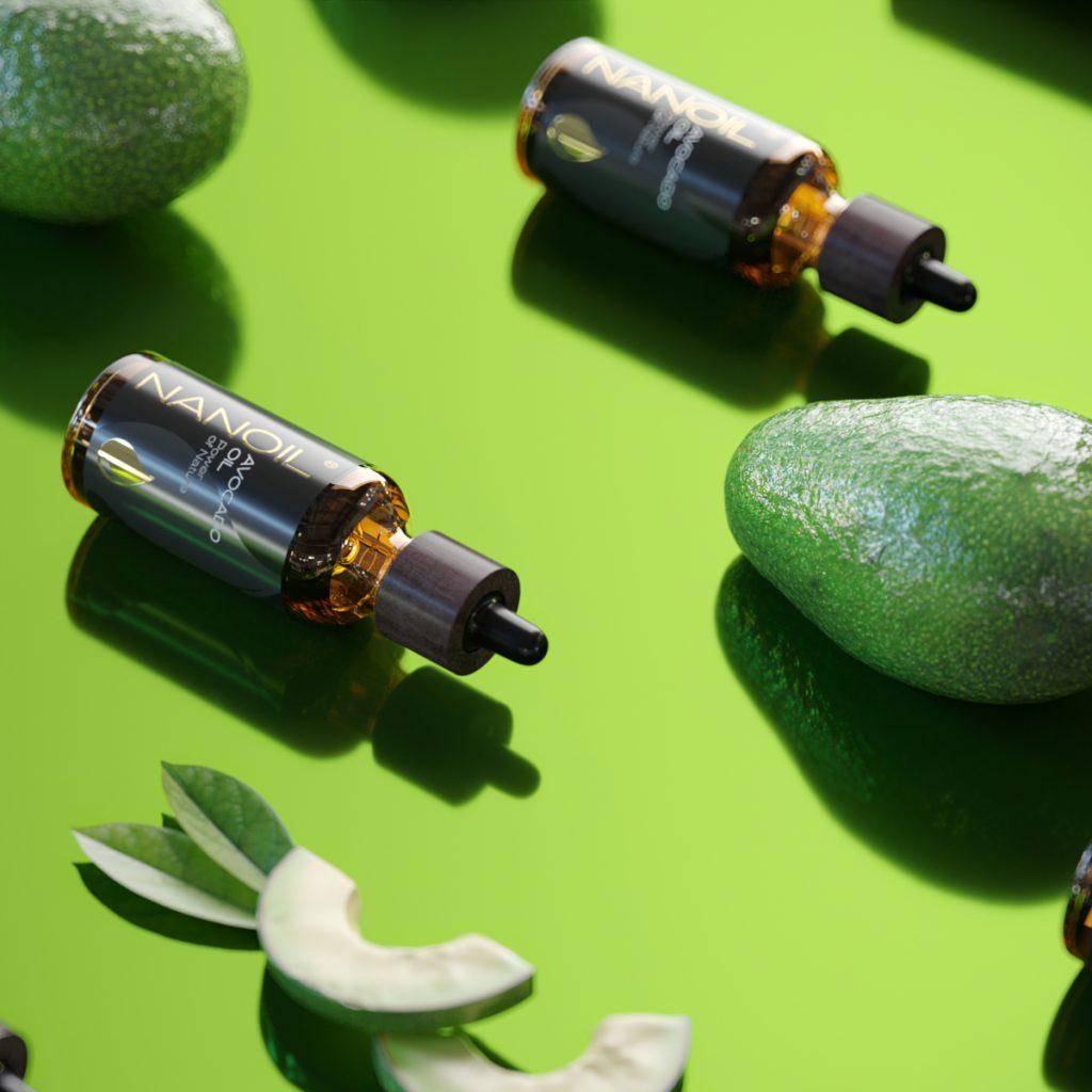 Nanoil Avocadoöl zur Hautpflege